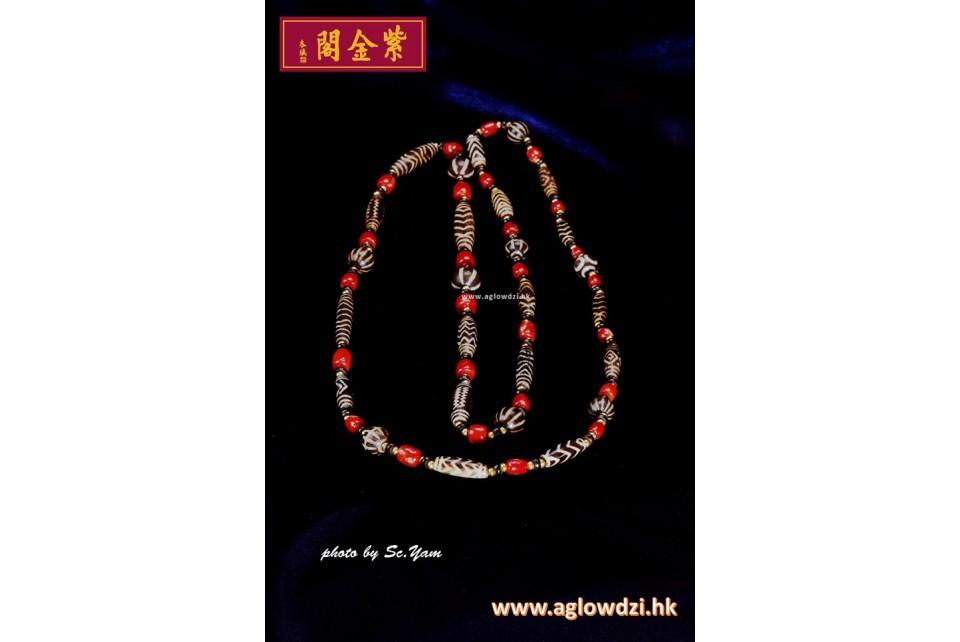 邦帖嘎天珠  1100 AD - 1920 AD