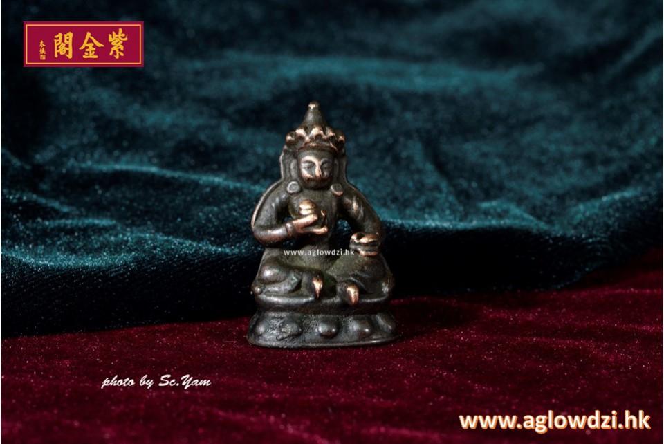 序號:1386  老天鐵黃財神串佛