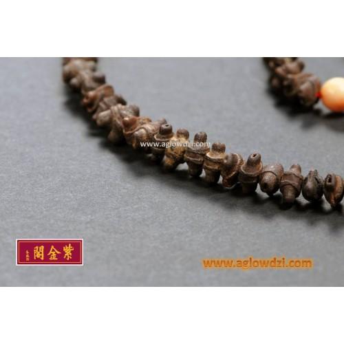 序號:586  清代 108 古稀種子念珠