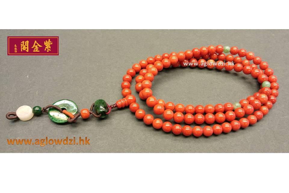 序號:478  紅珊瑚念珠