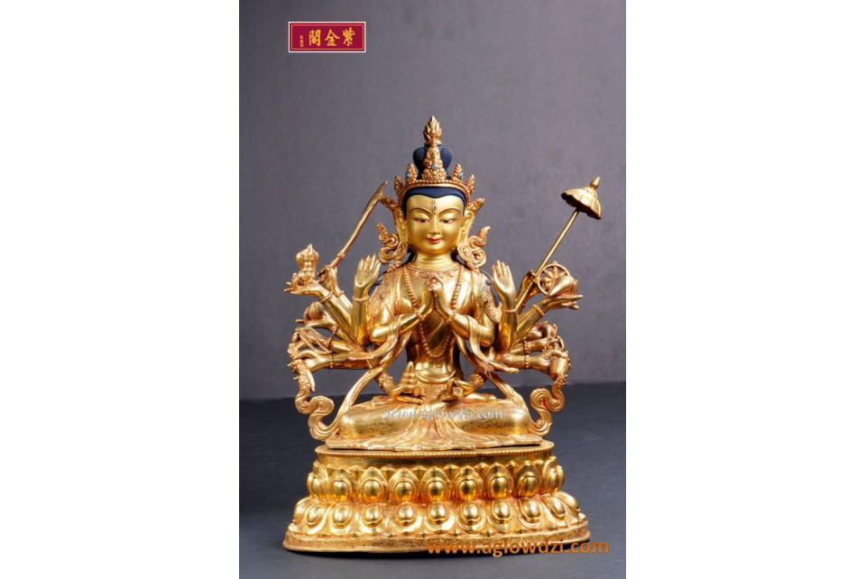 序號:335  現代準提菩薩像