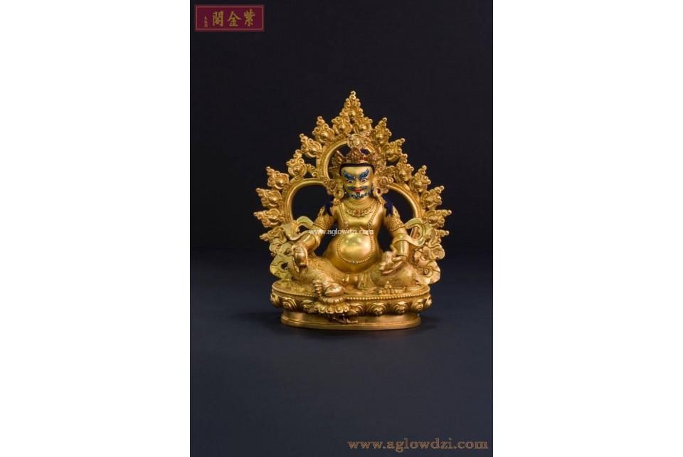 序號:319  黃財神佛像