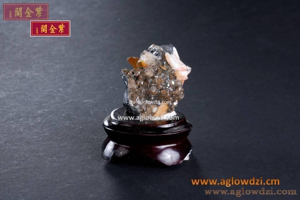 序號:351  釩鉛礦重晶石