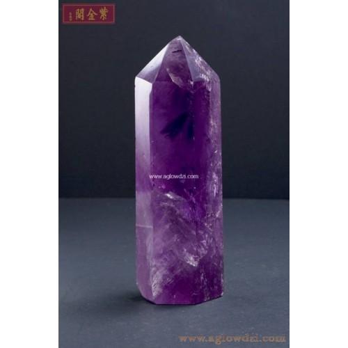 序號:1245  紫晶柱