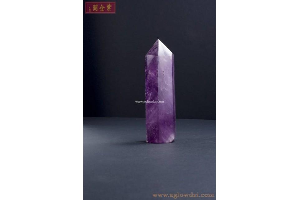 序號:316  紫晶柱